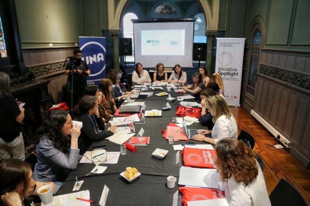 Alianza entre la Iniciativa Spotlight y la RUGE: atacar la violencia de género desde las universidades