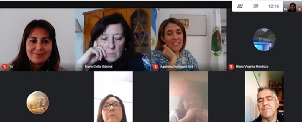 La rectora Agustina Rodríguez Saá se reunió con supervisores educativos de la Región 4