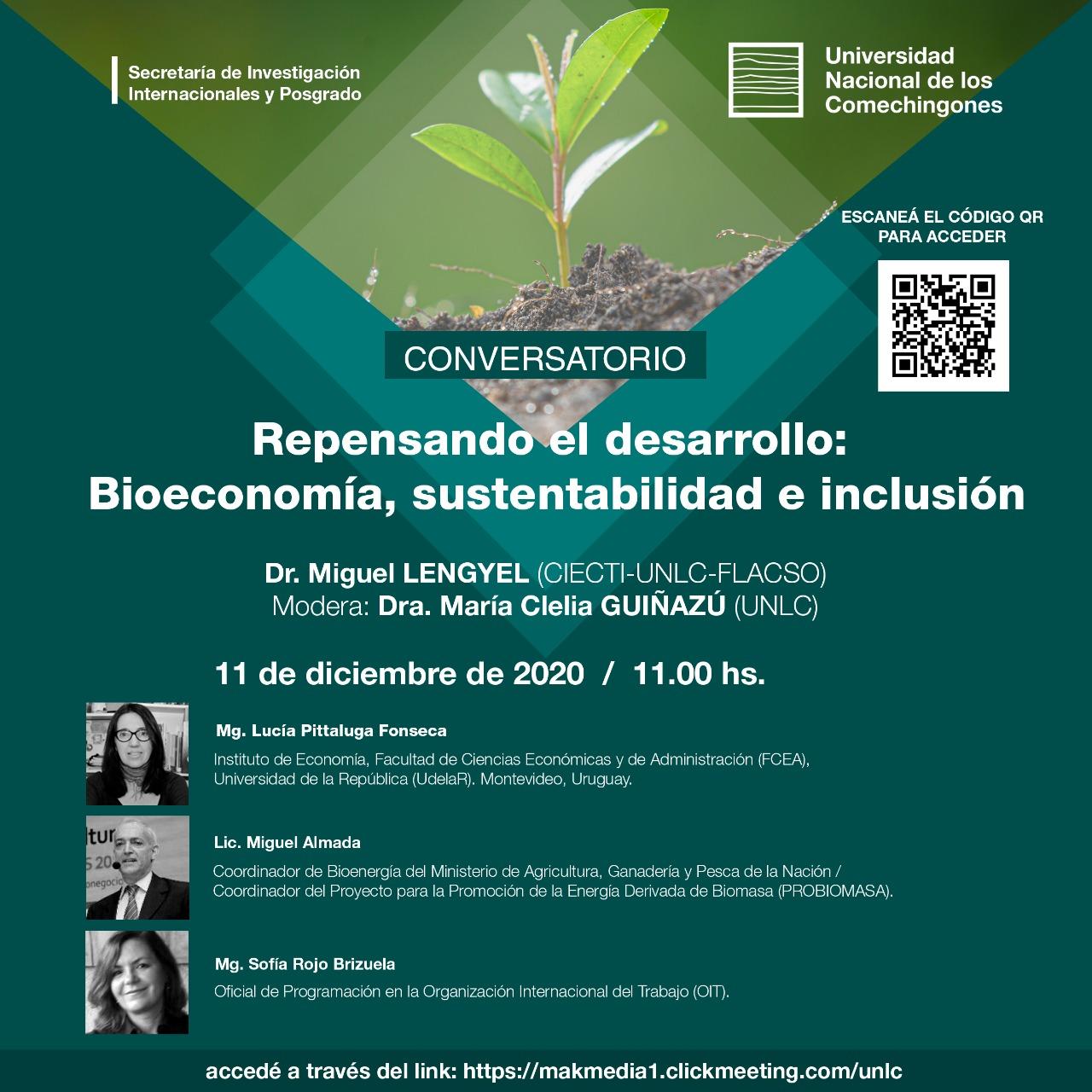 Repensando el desarrollo: Bioeconomía, sustentabilidad e inclusión