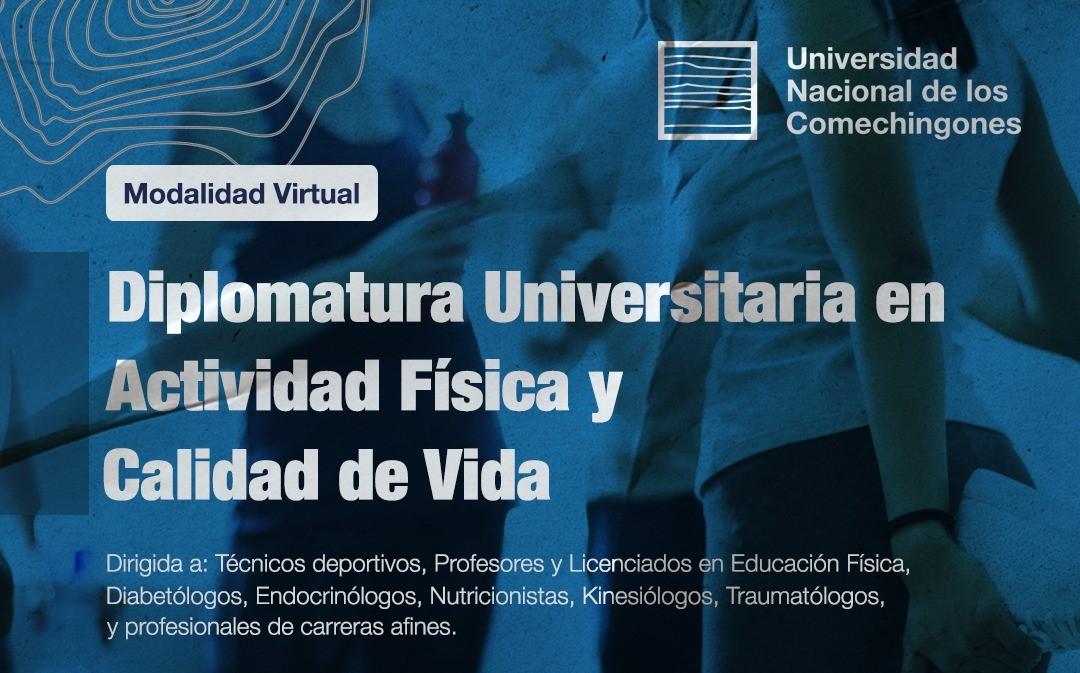 En abril, se iniciará de manera virtual la Diplomatura Universitaria en Actividad Física y Calidad de Vida