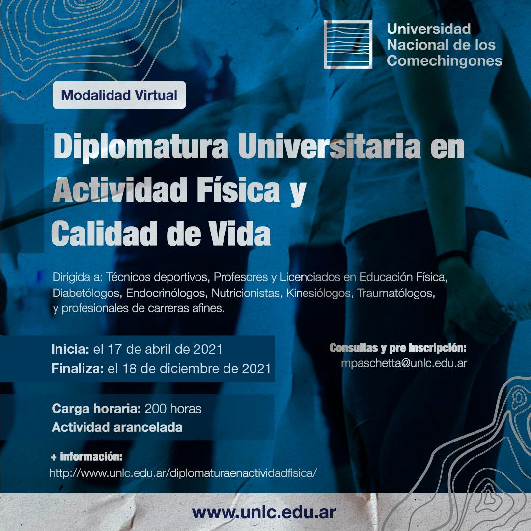 Inicia la segunda edición de la Diplomatura Universitaria en Actividad Física y Calidad de Vida
